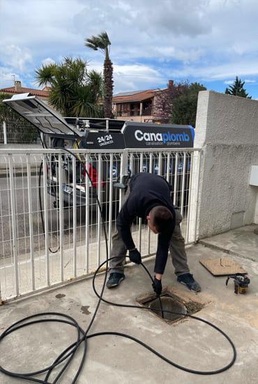 Débouchage canalisation à Perpignan